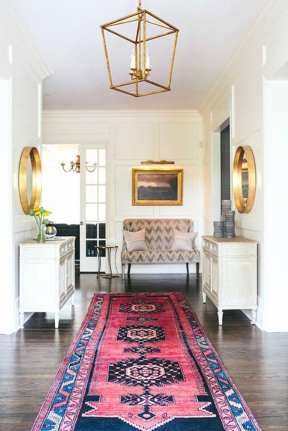 persian hallway rugs