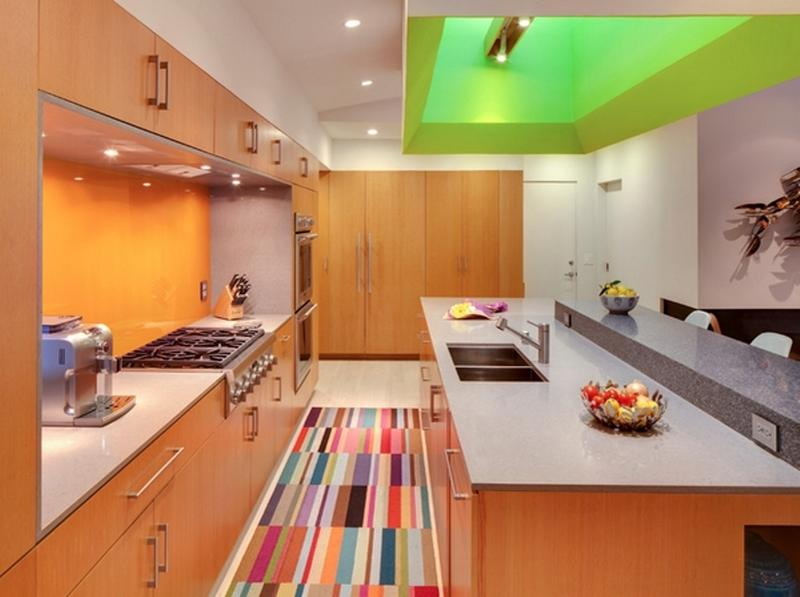 colorful-mosaic-kitchen-area-rug