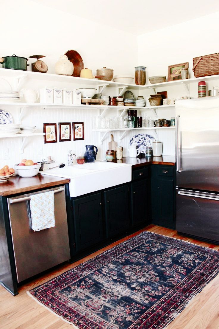 Ever thought how Persian rugs can beautify your kitchen?