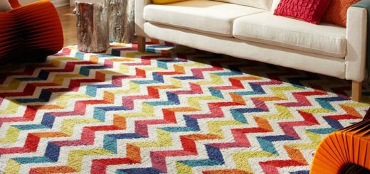 nylon made modern rugs