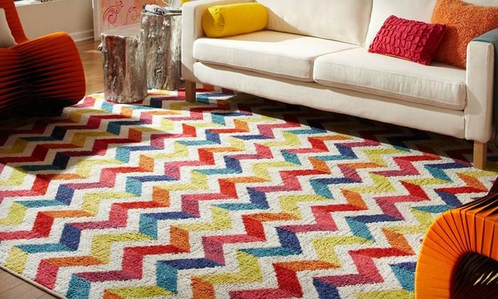 nylon made modern rugs