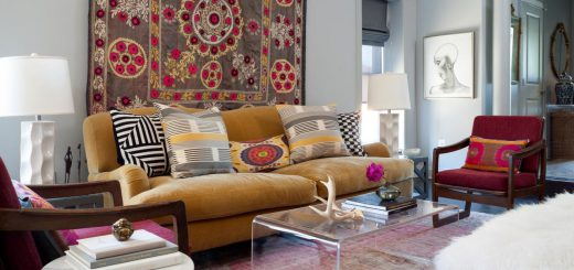 rugs as wall art
