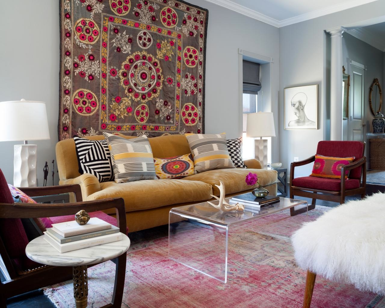 rugs as wall art
