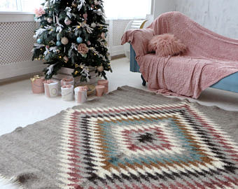 Wool kids rugs