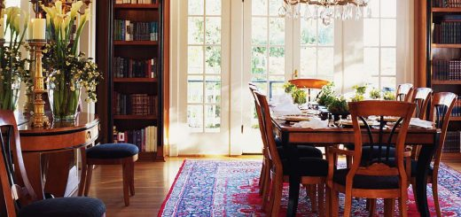 buy rugs for dining room
