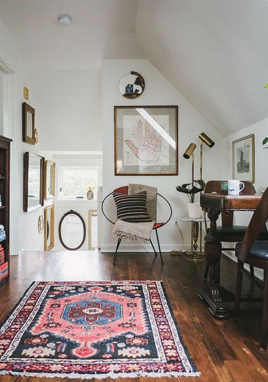Rugs in Small Spaces
