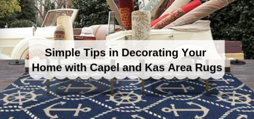 Capel and Kas Area Rugs